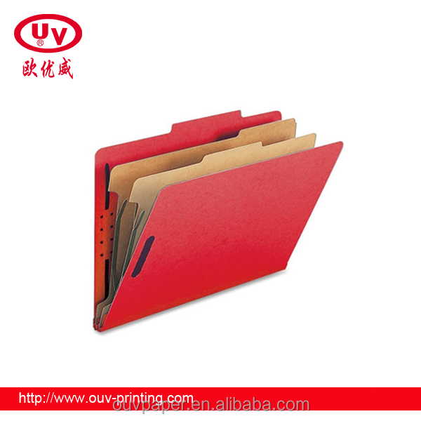 2016 Custom Pp Pvc Clear Plastic File And Classification Folder