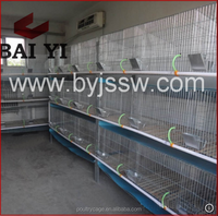 Three Level Custom Rabbit Cage With Pull Out Tray