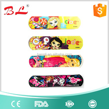 Disposable free sample elastic/ fabric wound plasters