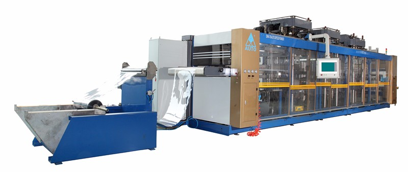 New design tool changing system high speed plastic thermoforming machine