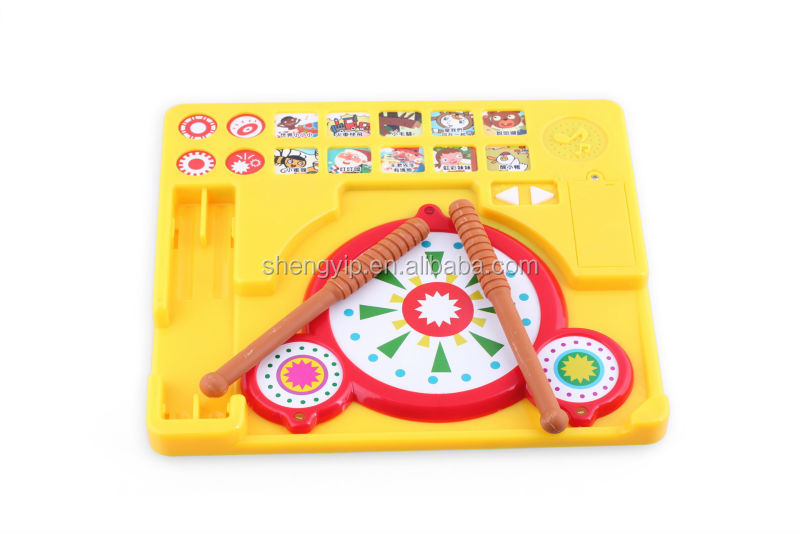 wholesale kids educational toy musical instrument sound module drum toy