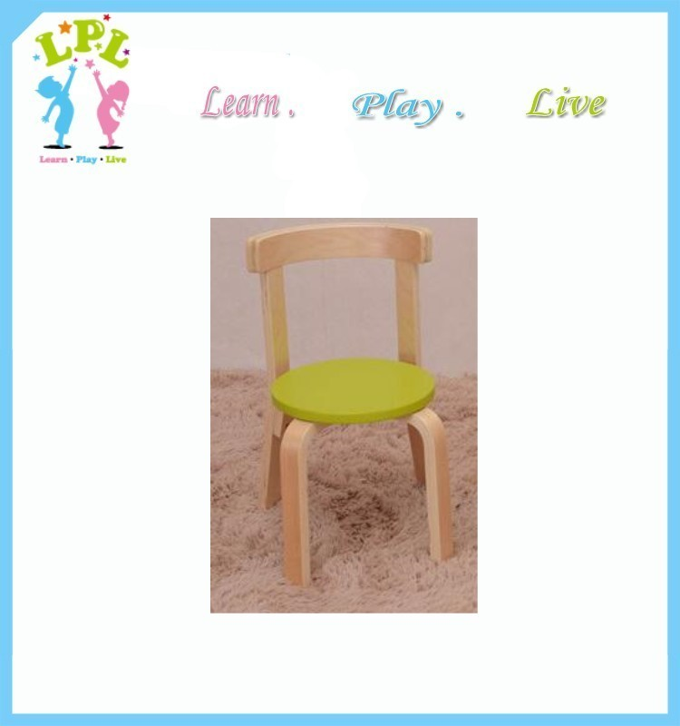 Children chair bentwood arm chair school furniture kids study chair