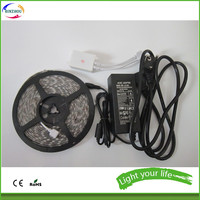 wholesale smd5050 rgb kit led strip lights with remote controller