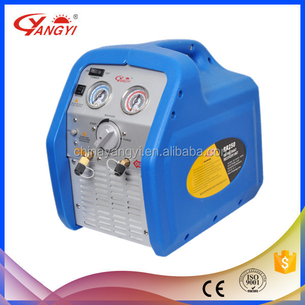 R134 R22 Auto Refrigerant Recovery Recycling Machine/unit Car Air Condition Service Machine Recharger RR250