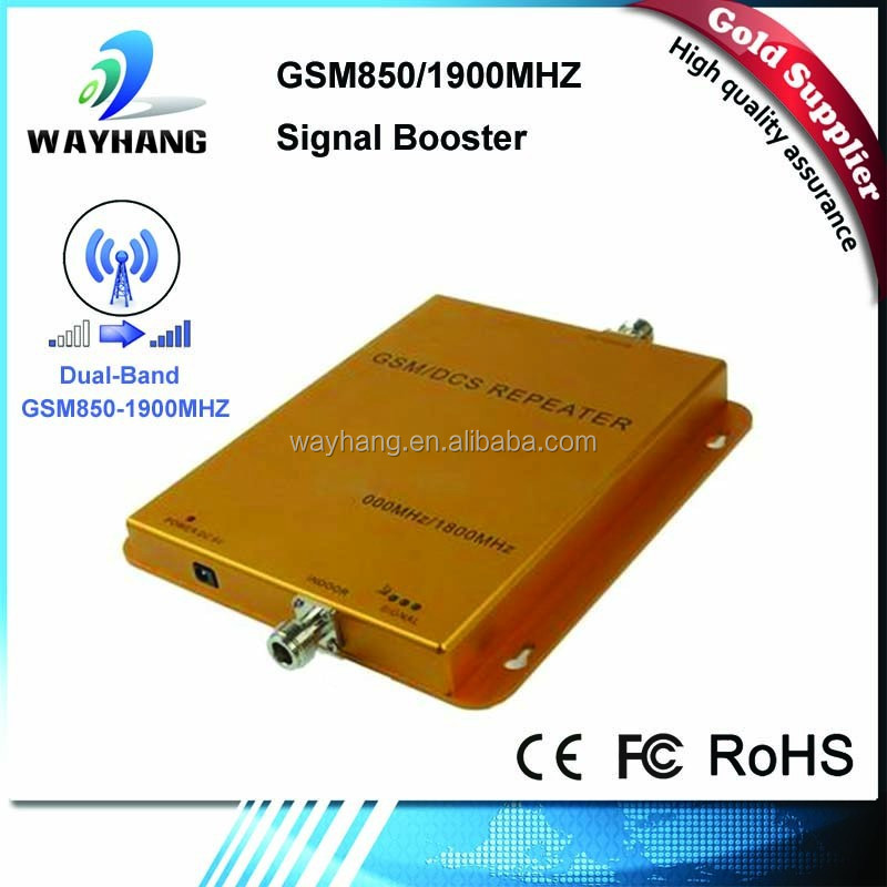 Dual band cellphone signal booster for CDMA 850 PCS1900mhz,Home use Mobile phone signal repeaters amplifiers