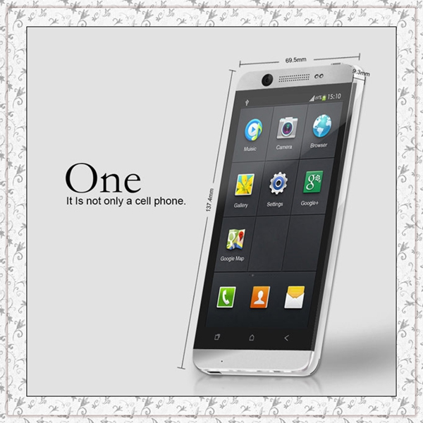 "Cubot One Smartphone Mobile Phones MTK6589 Quad Core 1.2GHz 1G 8G 4.7"" 1280x720 Touchscreen Dual SIM Camera 13MP+5MP Android 4.2"
