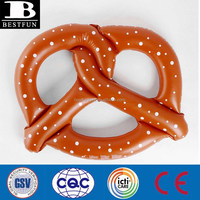 3 Person Giant Pretzel Inflatable Float Toy NEW Swimming Pool Water Raft Floater Toy 3 Kids Tube Summer Floatie Beach Lake