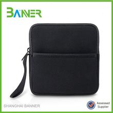 Professional soft protective neoprene black laptop sleeves