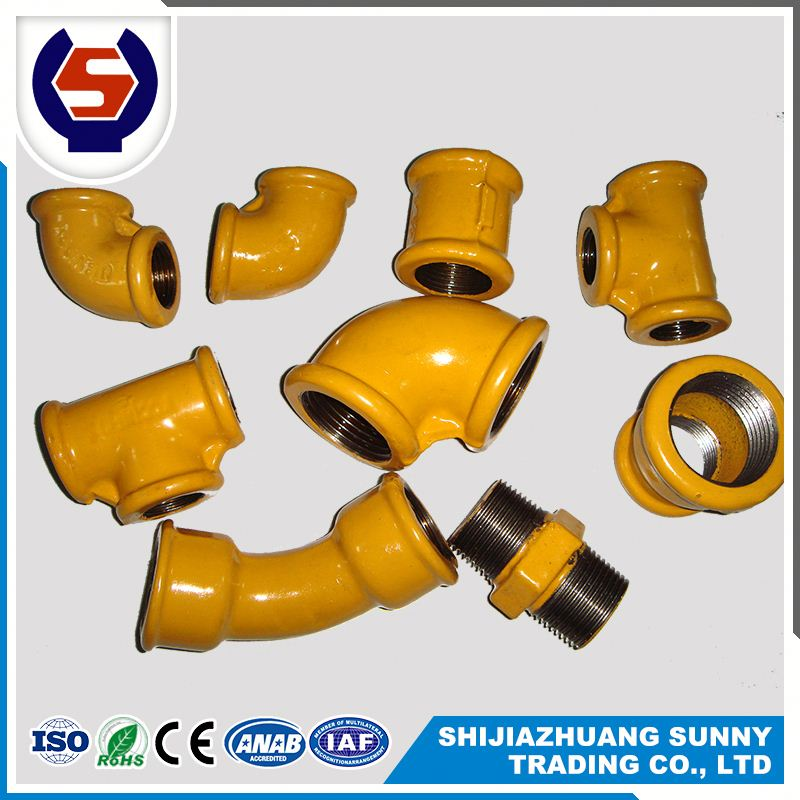 malleable pipe fitting names and parts