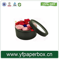 Beautiful Flower Shipping Hat Boxes Packaging