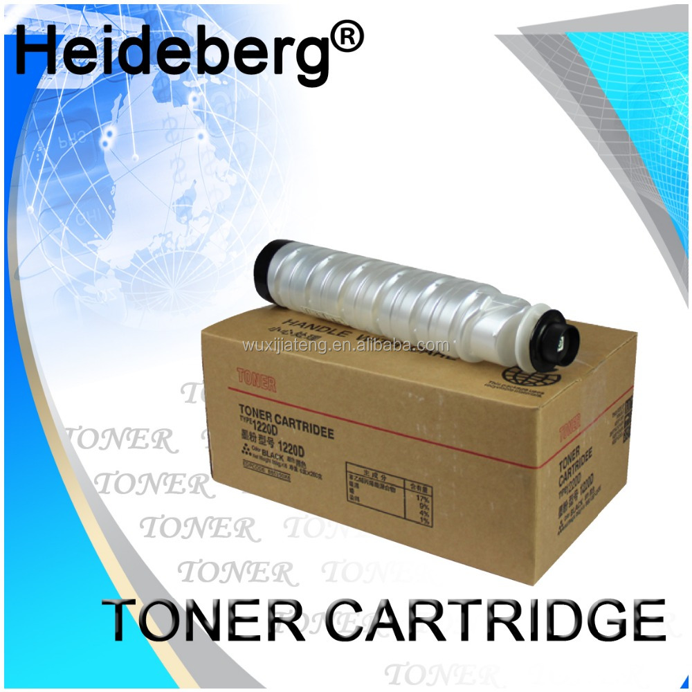 China toner factory ,refill toner powder for Ricoh 1220D toner cartridge