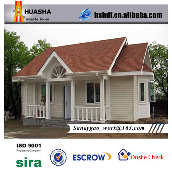 Luxury modern prefabricated residential building house