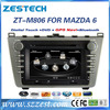 android gps for mazda 6 display 2008-2012 with radio audio gps navigation BT mp3 TV multimedia