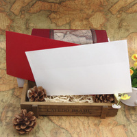 High-class colorful paper a4 manila envelope