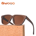 Wholesale Online Recommended Brown paint Bamboo sun glasses For Men