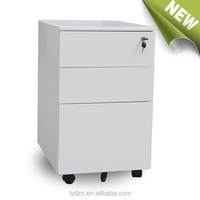 Office furniture 3 drawers mobile pedestals/mobile file cabinet made in luoyang china