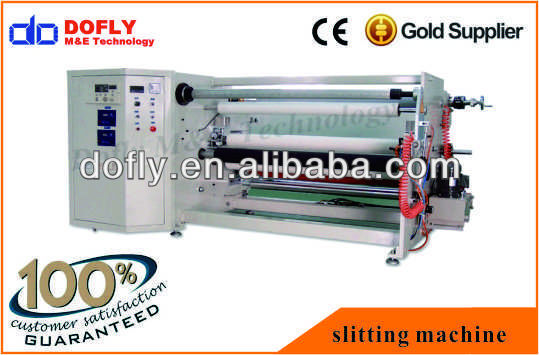 high precision film faced polywood slitting machine