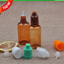 10ml ejuice eliquid nicotine oils plastic pet dropper bottles with childproof cap for tobacco tar