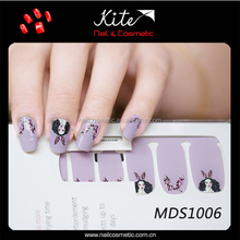 Kite 2016 Colored Nail Sticker,Handmade Nail Art,3D Water Nail Decal