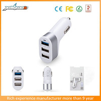 hot selling high speed Innovative 5.1A 3port car charger for iphone 6 iphone 6s mobile phone samsung galaxy s6