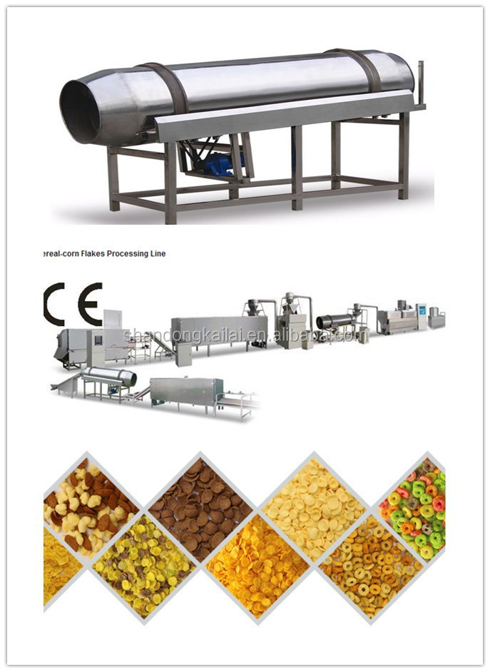 Competitive extruder machine price tortilla chips making machine corn flakes production line