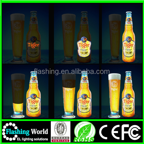 High brightness flexible el panel ,led light panel,Electroluminescent Poster