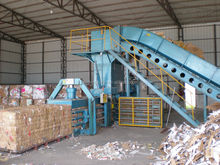 HOT SALE IN 2015! Horizontal hydraulic automatic soft film compress baler machine for sale