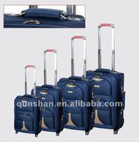 4 wheels trolley luggage set for aferica