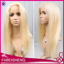 Philippine hair blonde full lace wig 613 silky straight and body wave human hair wigs