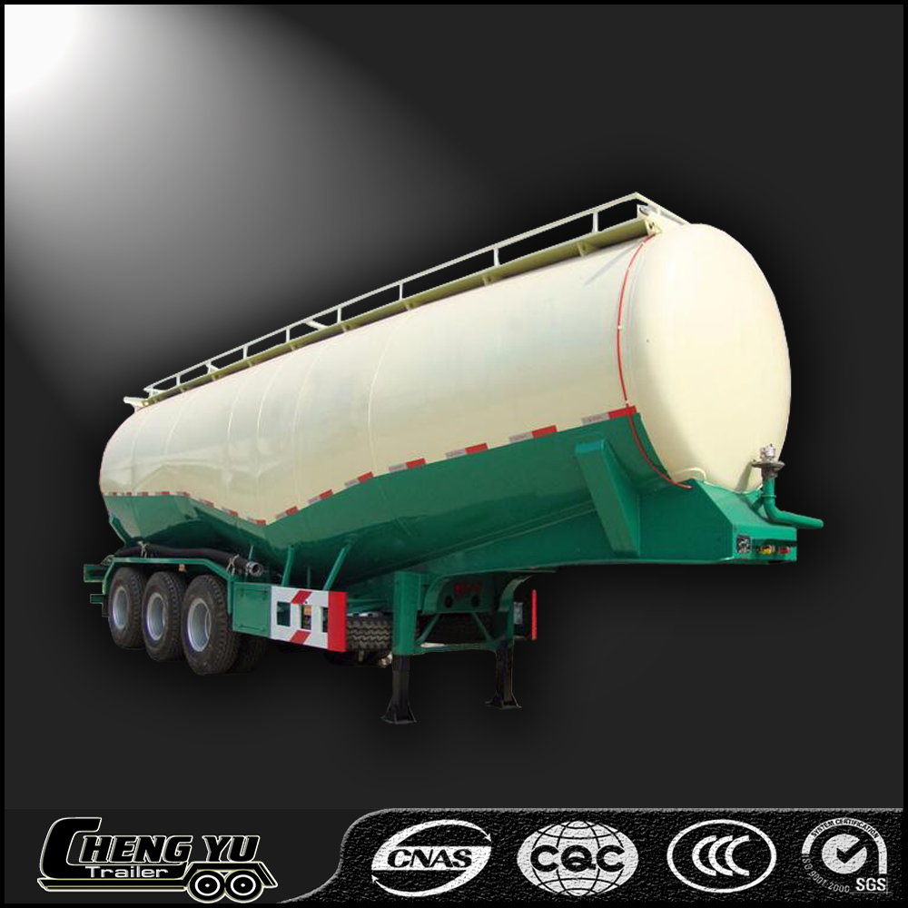 Dry powder bulk concret tank semi trailer/ cement tank semi trailer