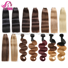 Xuchang Hair Factory 100 Human Hair Extension, Aliexpress Hair Brazilian Hair, Unprocessed Wholesale Brazilian Hair