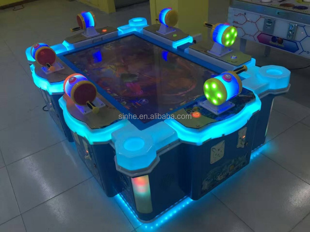English version fire kylin high profits fish gumbling machine arcade game, fish game machine manufacturer