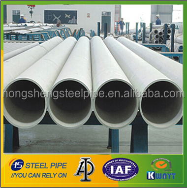 abrasion resistant welded stainless steel pipes with large diamter