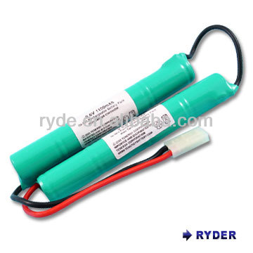 Air soft gun, RC car battery pack 6V1400mah