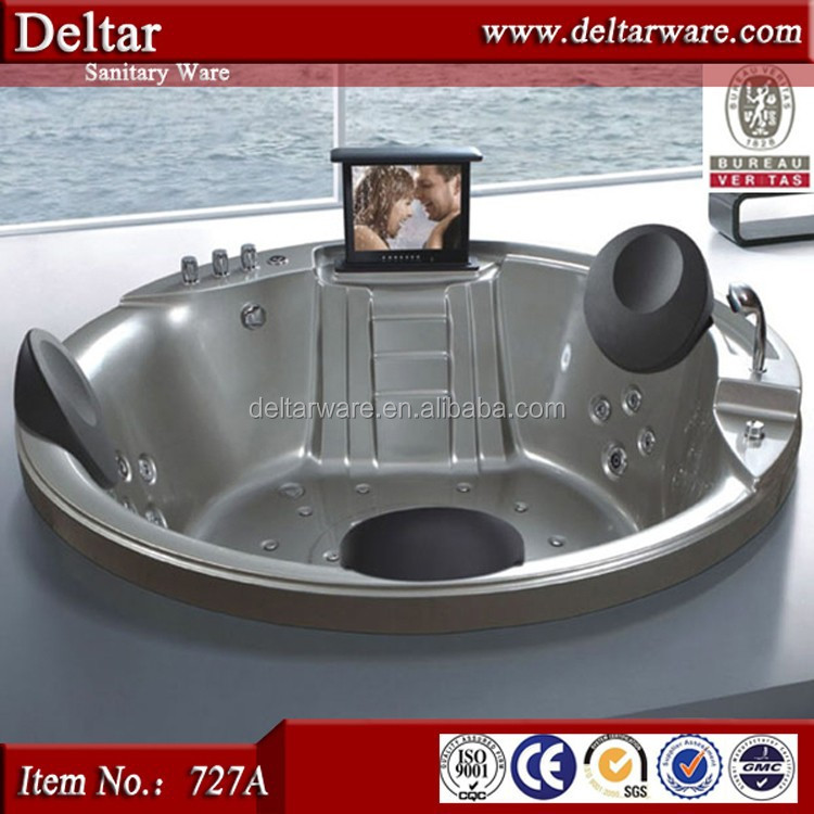 Indoor 3 person hot tub,massage jaccuzi sizes, hot tub price