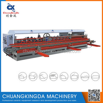 Automatic Marble Tiles Round Edge Circle Ladder Skirting Machine