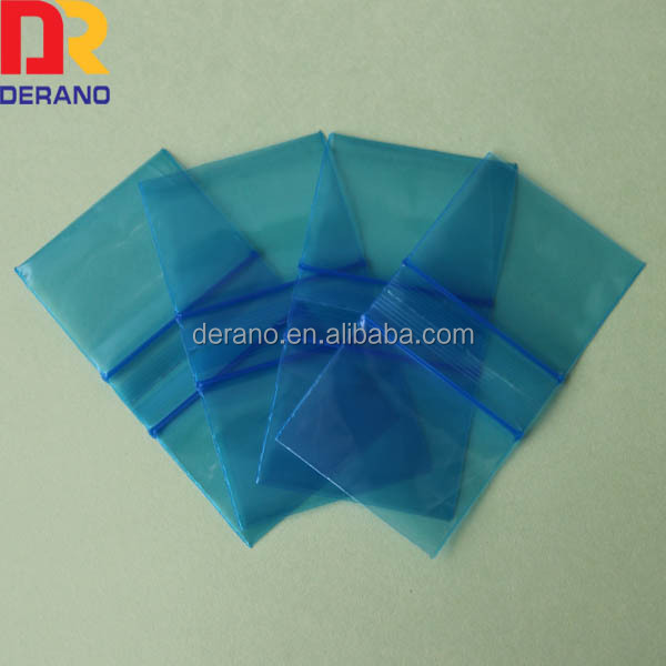 colour zip lock bags blue zip lock bag high quality&best price for sale