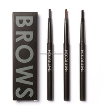 FOCALLURE High Quality Cosmetics Art Waterproof Eyebrow Pencil With Brush Makeup Cosmetic Tool Eyebrow Pencil