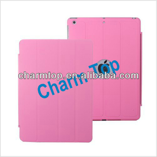 Smart Stand Leather Case For iPad 5 iPad Air