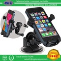 2016 hotsale mount holder for Phone Universal Car Holder for USA markets 3IN1 Car mount kit