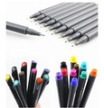 Fineliner Color Pen Set 0.38 mm Colored Fine Line Drawing Pen
