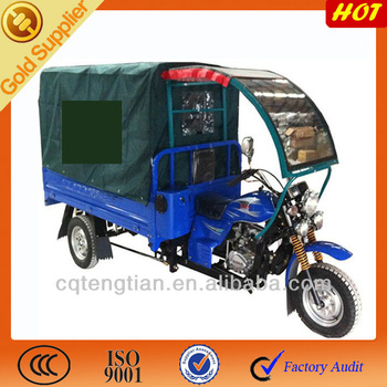 150cc Front Cargo Tricycle with Cabin