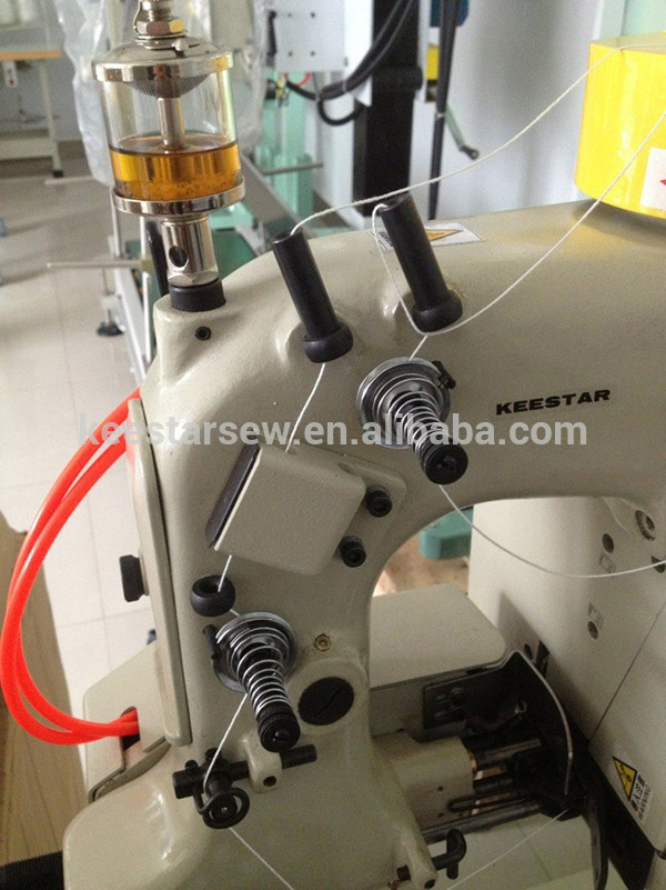 KEESTAR GK35-6A Chain Stitch thread pusher cost efficient bag closer sewing machine