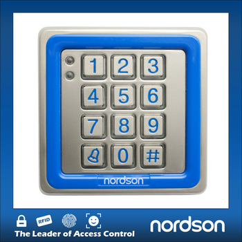 NT-K86 Waterproof & Vandal-proof Rfid Metal SIngle Door Keypad Access Controller