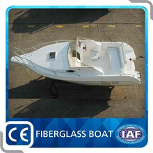 Customized design 20ft Fiberglass Speed Boat for sale