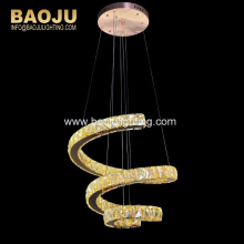 Indoor lights modern led lighting Luxury Crystal Pendent Lighting Lead Crystal chandeliers