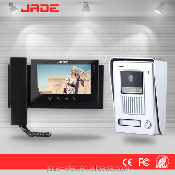 JADE New Electronic Handsfree Video Intercom Door Lock