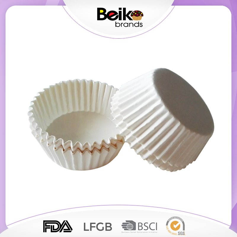 Wholesale Plain Color white greaseproof paper cupcake liner/liners muffin baking cup cake case