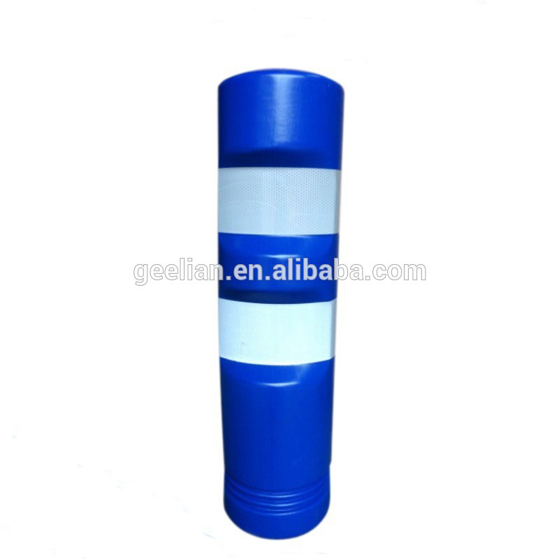 Flexible Plastic Bollards Delineator Guide Post For Road Safety