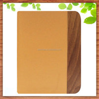 hot selling cheap price with stand flip leather wood bamboo case for iPad mini 2 3 4 wooden tablet cover case wholesale